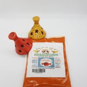 Poivron rouge épices Maroc